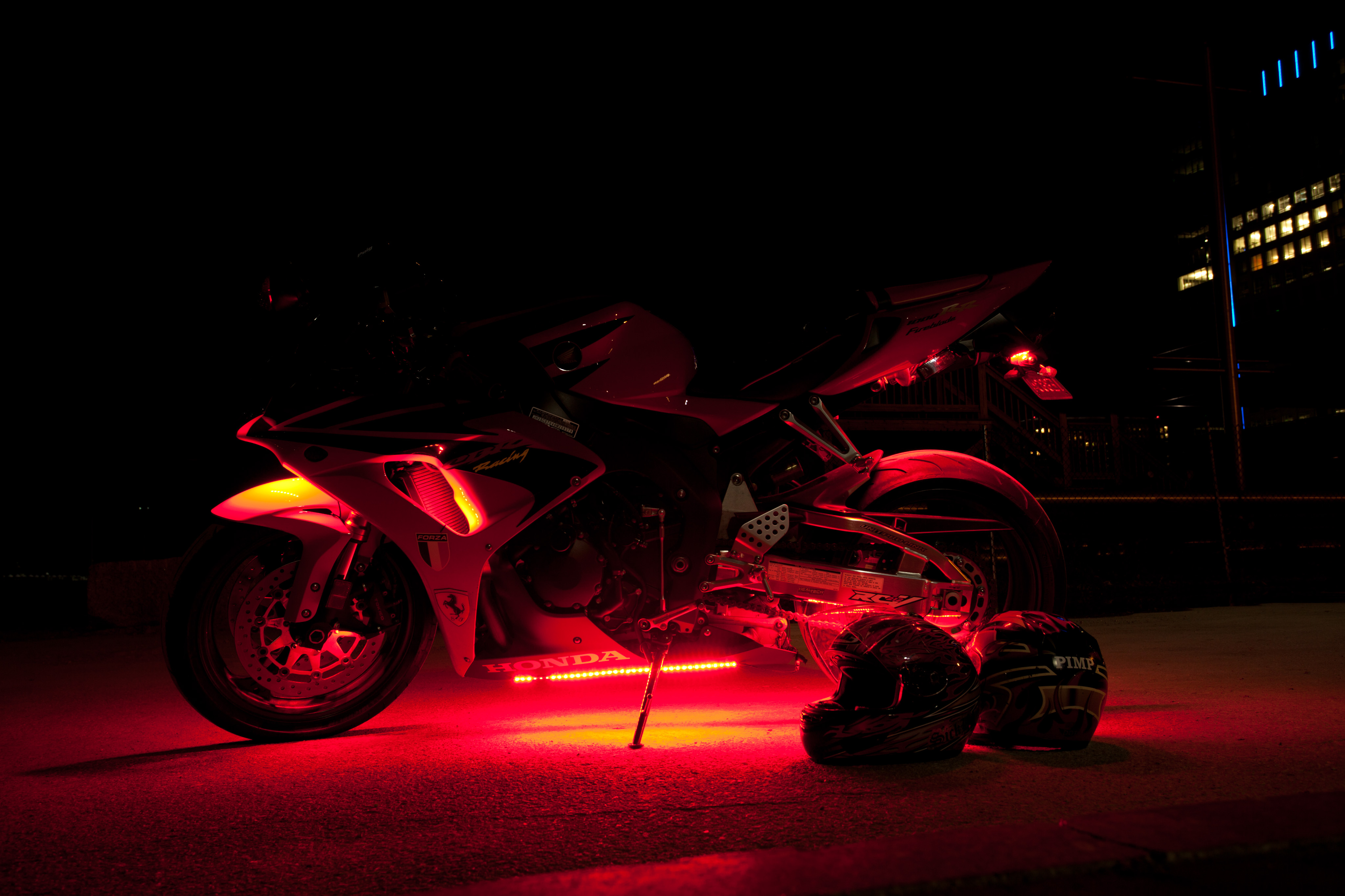 Light Up Motorcycle Helmet : Motorcycle Review and Galleries